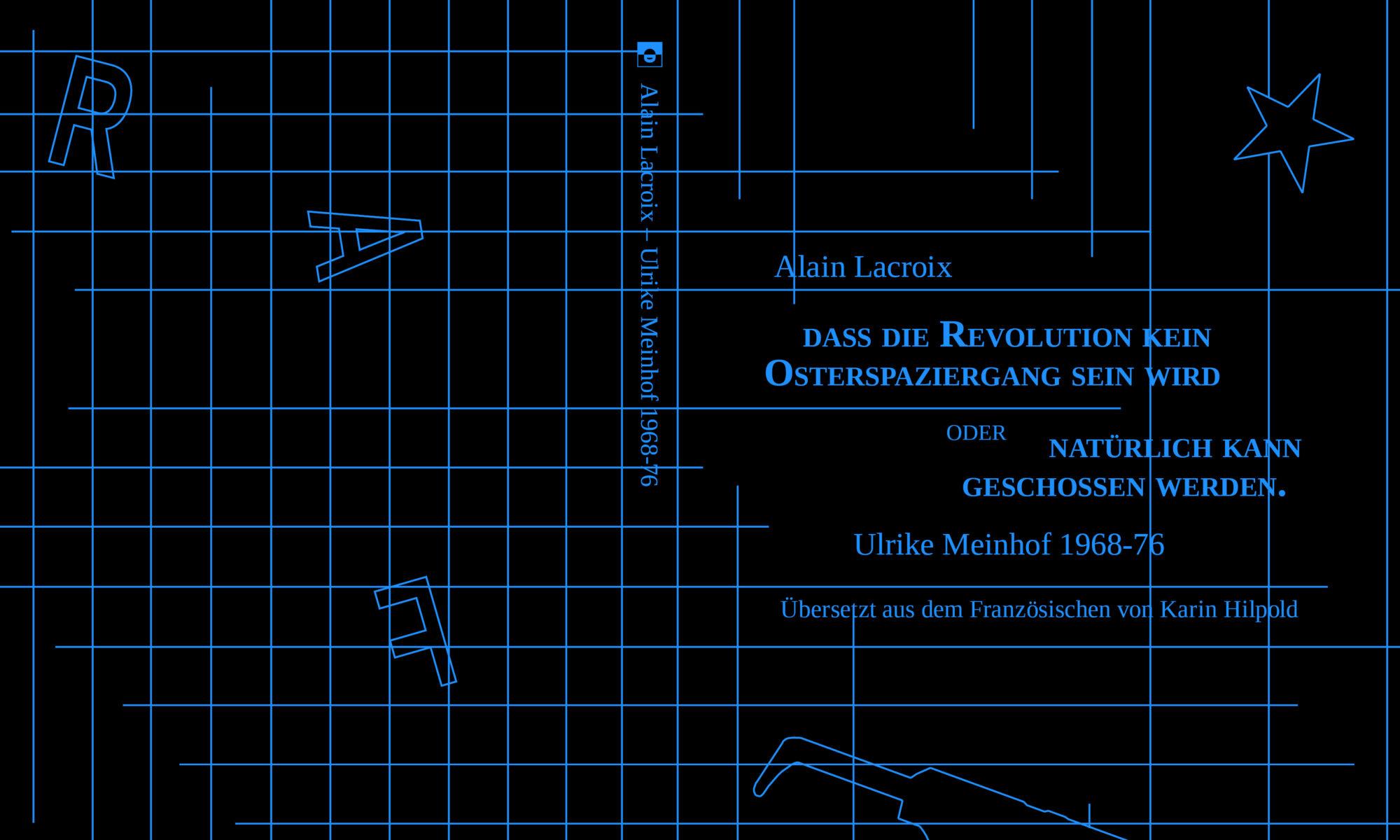 Ein Bild des Covers von Cover Lacroix' Meinhof-Buch.